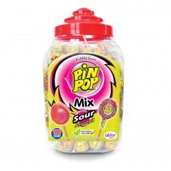 Lizak Pin Pop Kwaśny [100]