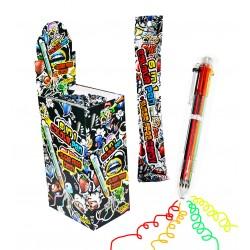 Długopis 6 w 1 z cukierkami...