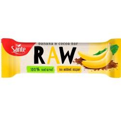 Baton owocowy Banan & Kakao...