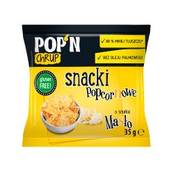 Snacki popcornowe Masło...