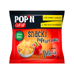 Snacki popcornowe Papryka...