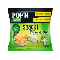 Snacki popcornowe Zielona...